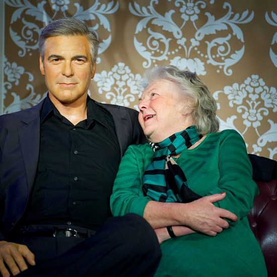 Madame tussauds George Clooney Amsterdam Welcome