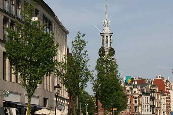 Munttoren from far and amstel