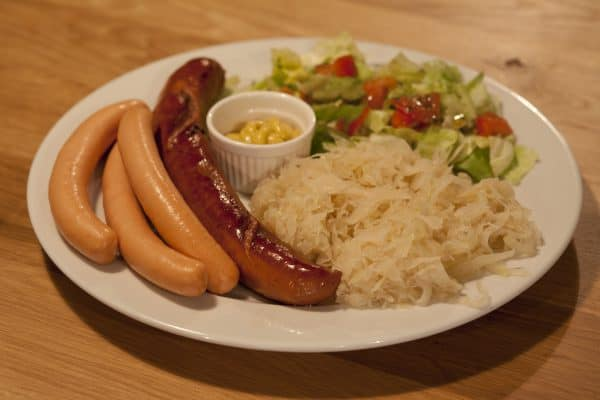 Wurst & Schnitzelhaus dinner German Deutsch - Where to Eat Amsterdam Welcome