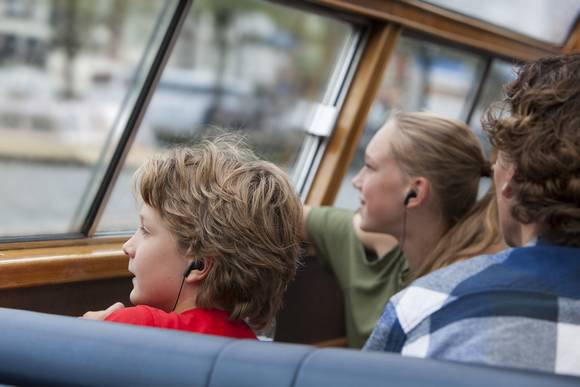 Stromma100 Highlights Cruise_Sightseeing with audio guide Amsterdam Welcome