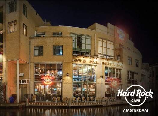 Amsterdam Nightlife Ticket Hard Rock Cafe - Amsterdam Welcome