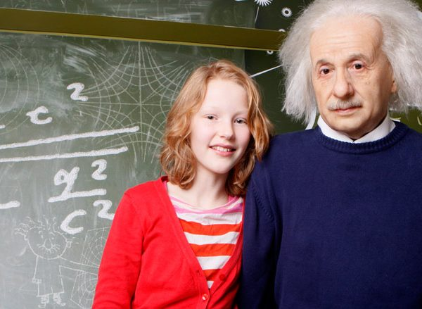 Madame tussauds Einstein Amsterdam Welcome
