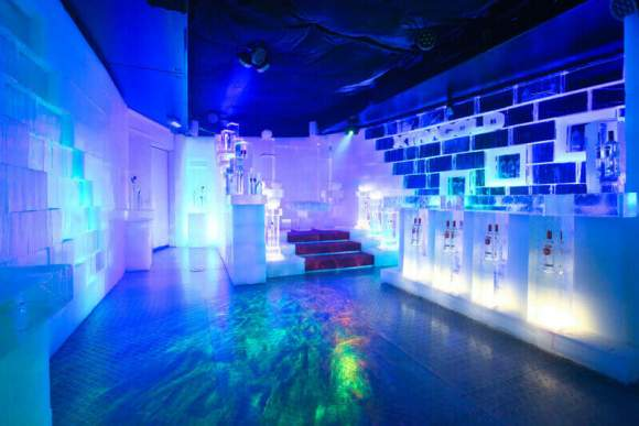 Icebar experience Amsterdam Welcome