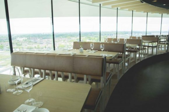 Moon 360 degree view dinner - Where to Eat Amsterdam Welcome