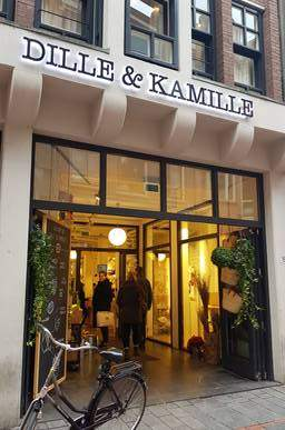 Dille & Kamille interior house decoration shop amsterdam welcome