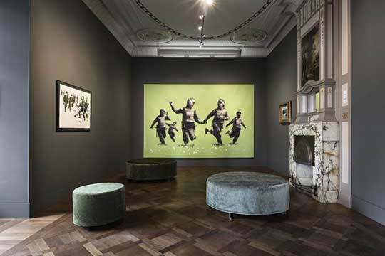 Beanfield Banksy tickets discount fast track entry moco museum amsterdam welcome